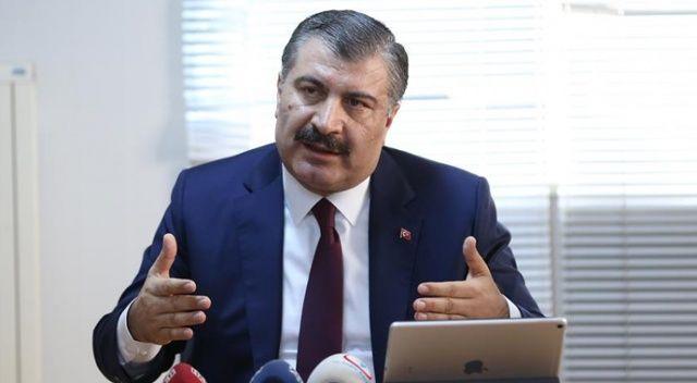 Sağlık Bakanı Koca'dan 'grip aşısı' açıklaması