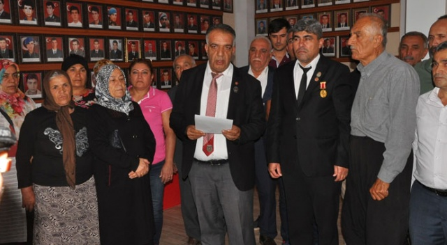 Şehit aileleri ve gazilerden Barış Pınarı Harekatı'na destek