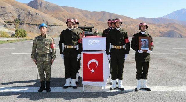 Şehit Onbaşı Yavan törenle memleketine uğurlandı