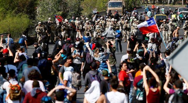 Şili'deki zam protestolarında ölü sayısı 11'e yükseldi