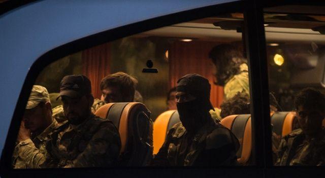 Sınıra çok sayıda Suriye Milli Ordusu askeri sevk edildi