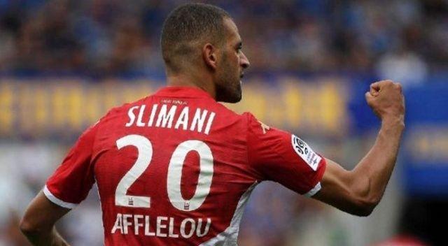 Slimani, Fransa'da Eylül ayının en iyi oyuncusu oldu