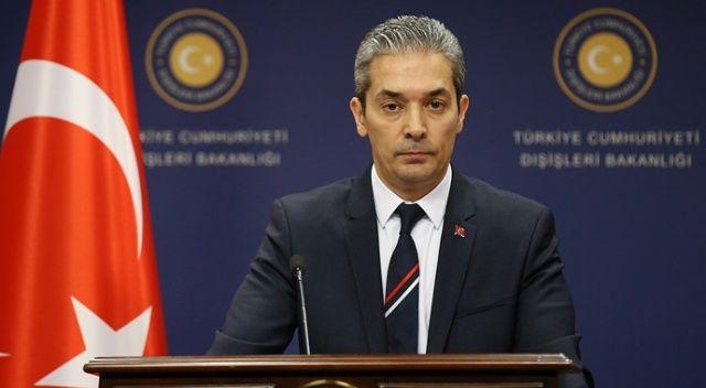 Sözcü Aksoy'dan ABD'nin olası yaptırımlarına ilişkin cevap