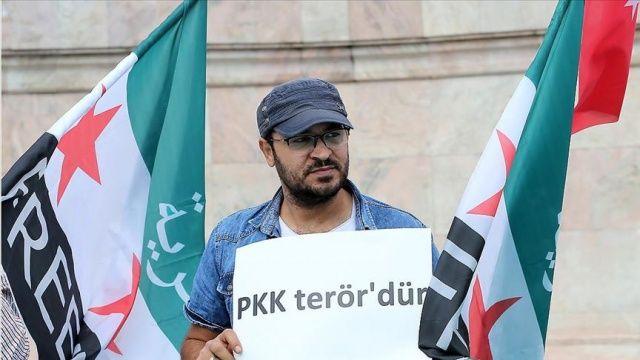 Suriyelilerden Barış Pınarı Harekatı'na destek