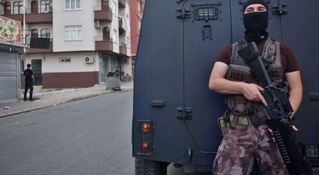 Terör operasyonlarında 391 kişi gözaltına alındı