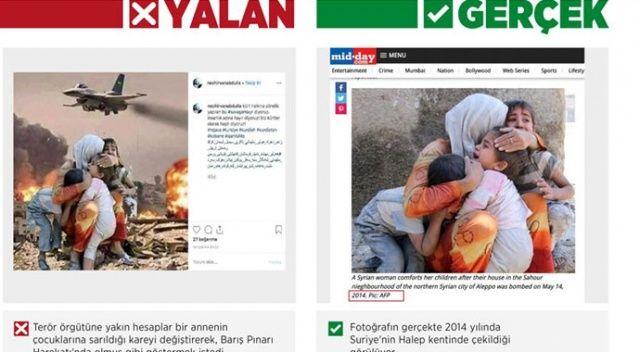 Terör örgütü yandaşları sosyal medyada manipülasyona hız verdi