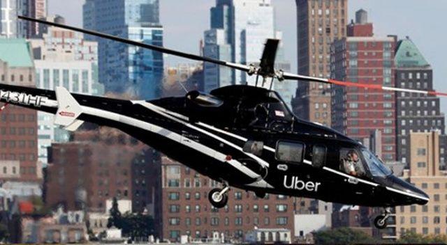 Uber'de 'helikopter taksi' dönemi