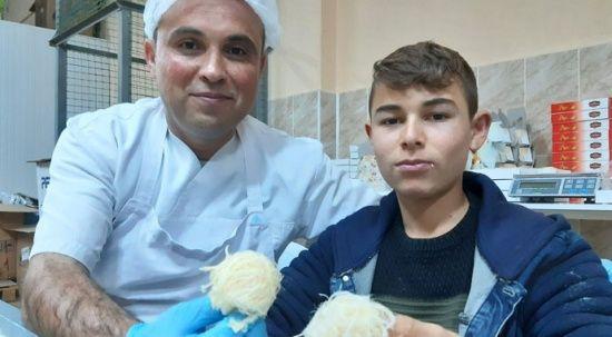 Çölyak hastası oğlu için üretti, şimdi siparişlere yetişemiyor