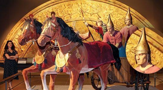 Müzede şaşırtan benzerlik! Urartu askerinin Kenan İmirzalıoğlu'na benzerliği ziyaretçileri şaşırtıyor
