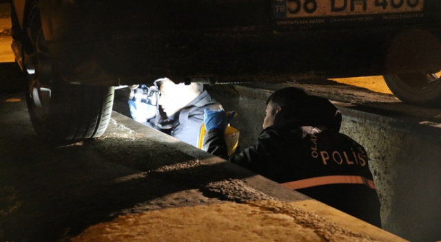 """""""Balkondan düştü"""" ihbarına giden polisler korkunç gerçekle karşılaştı"""