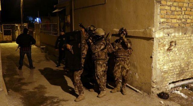 Adana'da DEAŞ ve El Kaide'ye yönelik operasyon