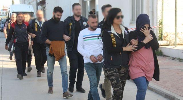 Adana'da 'peruklu bahis şebekesi' çökertildi