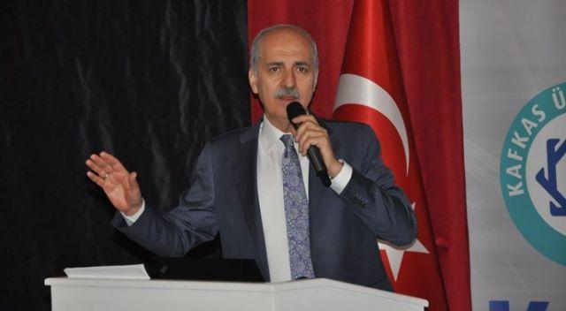 AK Parti Genel Başkan Vekili Kurtulmuş: Türkiye büyük oyunu görüyor