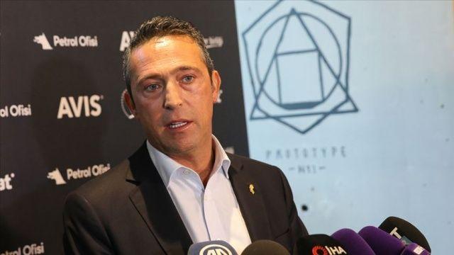 Ali Koç'tan 'Lig dizayn ediliyor' iddiasına tepki