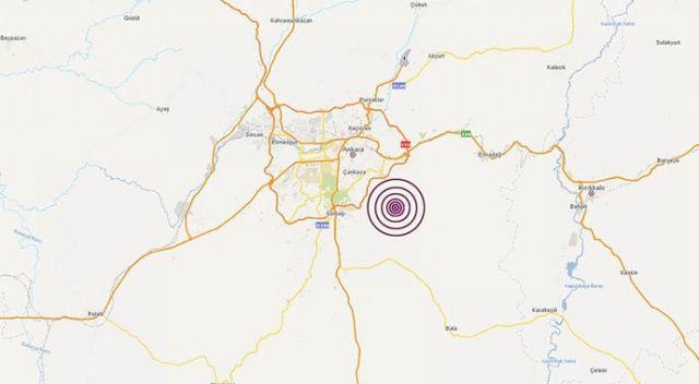 Ankara'da korkutan deprem! (Son depremler, 10 Kasım Ankara'da deprem mi oldu)