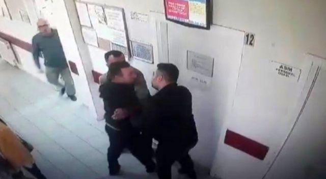 Annesinin kimliği ile ilaç yazmayan doktora saldırdı
