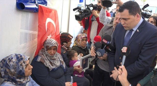 AP üyesi Diyarbakır annelerini ziyaret etti
