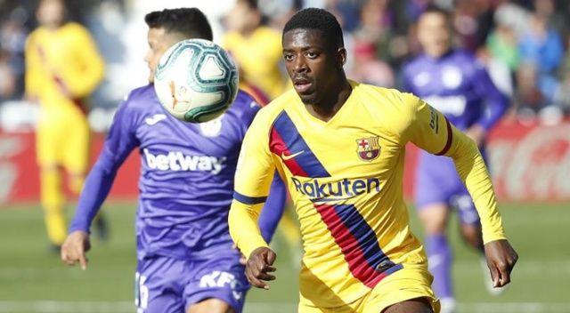 Barcelona'da sakatlanan Dembele 10 hafta sahalardan uzak kalacak