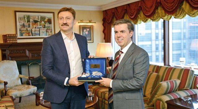Başkan Bahadır'dan İhlas'a ziyaret