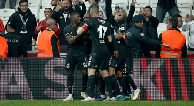 Beşiktaş sahasında yenilmezlik serisini sürdürdü