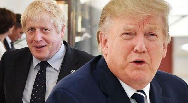 Boris Johnson ve Trump arasında Bağdadi görüşmesi