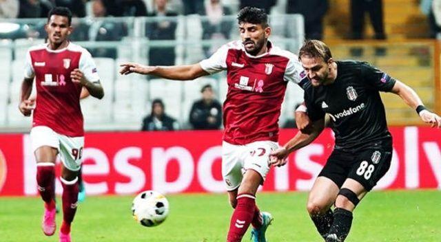 UEFA Avrupa Ligi: Braga: 3- Beşiktaş: 1