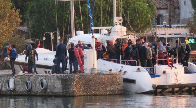 Çanakkale'de 97 kaçak göçmen yakalandı