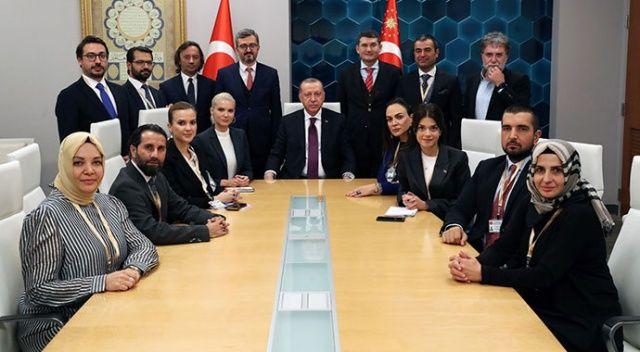 Cumhurbaşkanı Erdoğan'dan ABD ziyareti dönüşü medya mensuplarına önemli açıklamalar