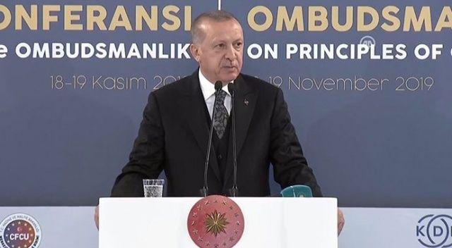 Cumhurbaşkanı Erdoğan: Bizim derdimiz petrol değil, insan