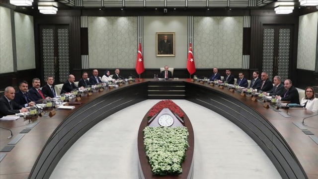 Cumhurbaşkanlığı Kabinesi Beştepe'de toplandı