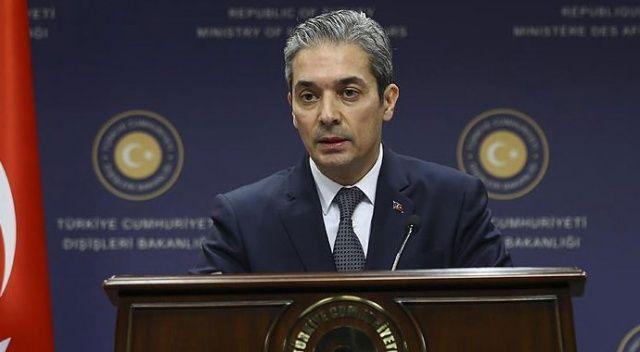 Dışişleri'nden Yunanistan Cumhurbaşkanı'na tepki