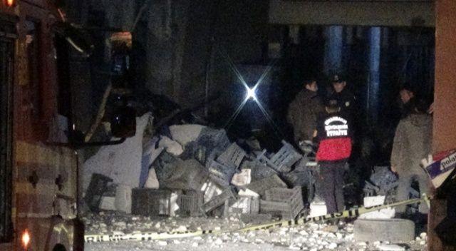 Diyarbakır Sebze ve Meyve Hali'nde patlama: 1 ölü, 2 yaralı
