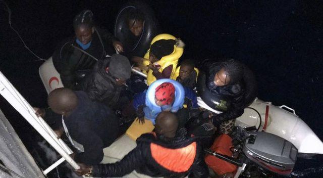 Ege'de mültecileri taşıyan bot battı