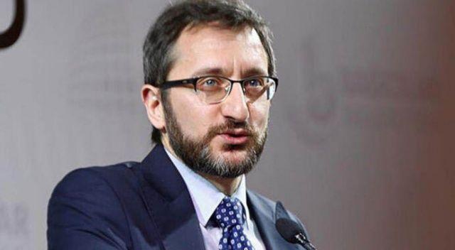 Fahrettin Altun Çin Ulusal Radyo ve Televizyon Dairesi Bakan Yardımcısı Jianmin'i kabul etti