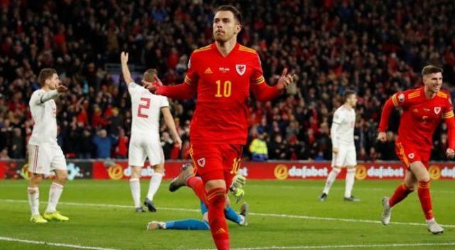 Galler EURO 2020 biletini Ramsey ile aldı