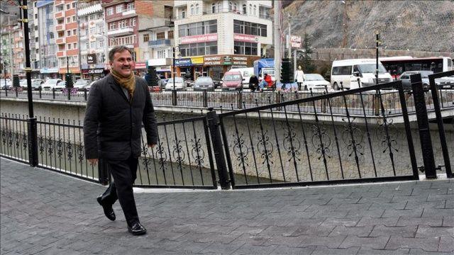 Gümüşhane Belediye Başkanı Ercan Çimen'e saldırı girişimi
