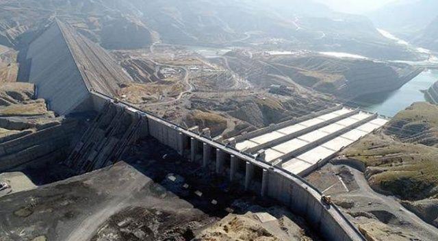 Ilısu'dan ekonomiye  2 milyar TL'lik enerji