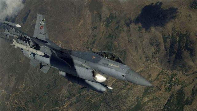 Irak'ın kuzeyine hava harekatı: 6 PKK'lı terörist etkisiz hale getirildi