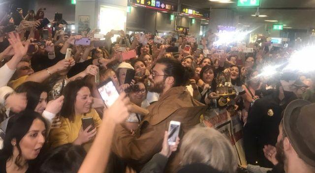 İspanya'da oyuncu Can Yaman'a büyük ilgi