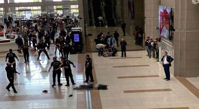 İstanbul Adalet Sarayı'nda intihar şoku!