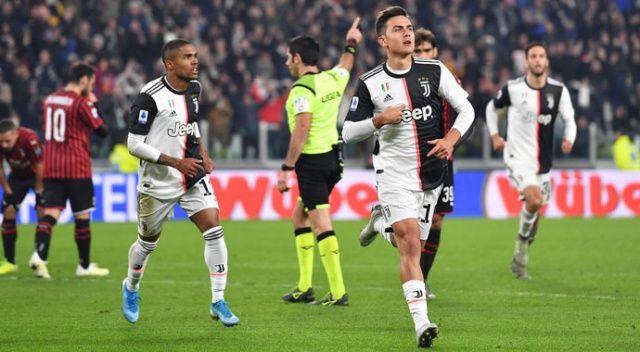 Juventus, Milan'ı tek golle devirdi