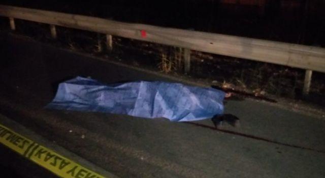Kamyonetin çarptığı motosikletli genç öldü