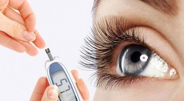 Türkiye'de 1 milyon diyabete bağlı körlük riski olan çalışan nüfus var ile ilgili görsel sonucu
