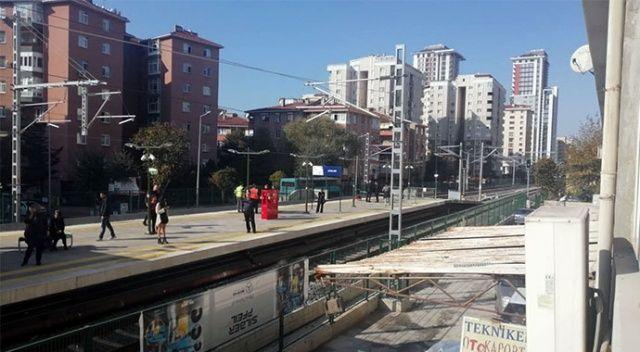 Marmaray'da Atalar durağında feci olay!