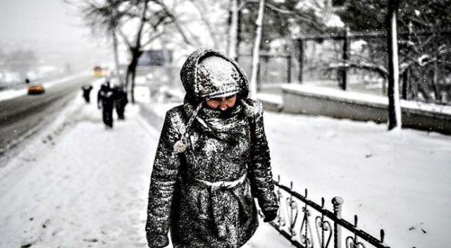 Meteoroloji uyardı! 6 ilde yoğun kar yağışı