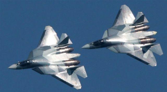 Moskova: Türkiye'ye  SU-35 ve SU-57 göndermeye hazırız