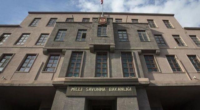 MSB'den KKTC bayrağının yakılmasıyla ilgili flaş açıklama açıklaması