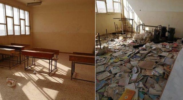 MSB: Terör örgütü Resülayn'da okulu mevzi yaptı