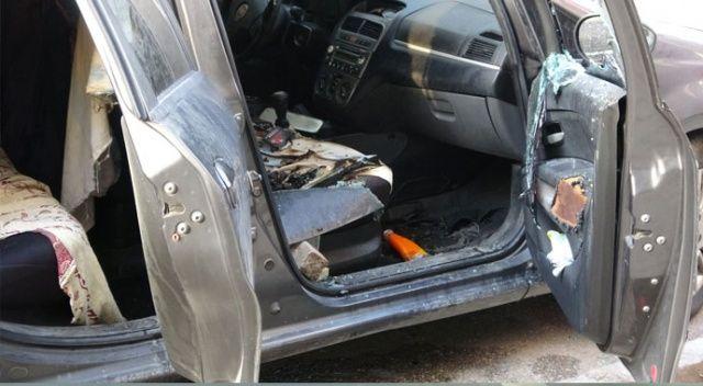 Pendik'te bir şahıs park halindeki otomobili kundakladı