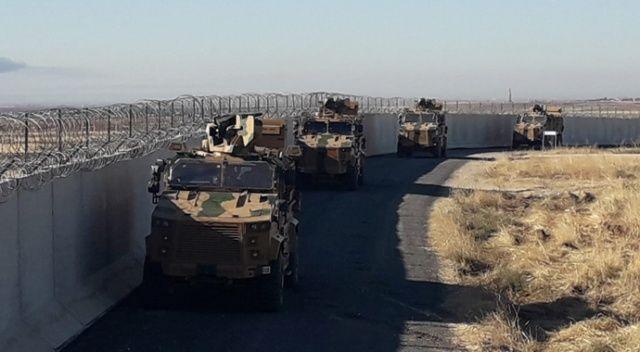 Fırat'ın doğusunda Türk-Rus üçüncü ortak kara devriyesi tamamlandı